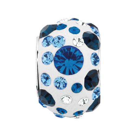 Blue Crystal Charm | Tuggl