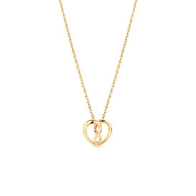 Mini Infinitas Pendant in 10ct Yellow Gold
