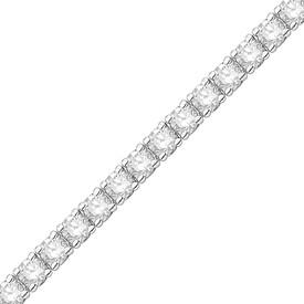Tennis Bracelet with 2.00 Carat TW of Diamonds in 10ct White Gold
