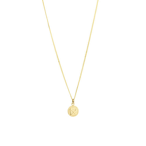Sagittarius Zodiac Pendant in 10ct yellow Gold