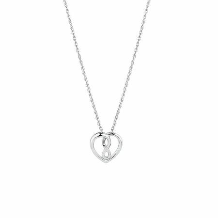 Mini Infinitas Pendant in Sterling Silver
