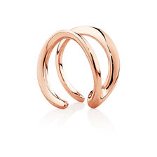 Mark Hill Cuff Earrings in 10ct Rose Gold