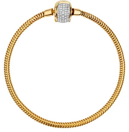 "1/2 Carat TW Diamond 19cm (7.5"") Charm Bracelet"