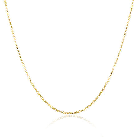 "80cm (32"") Belcher Chain in 10ct Yellow Gold"