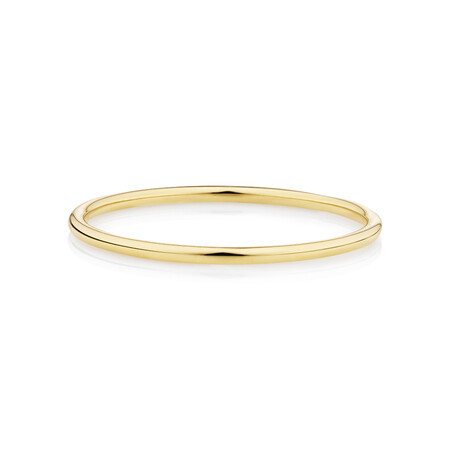 Plain Band Ring in Yellow Gold