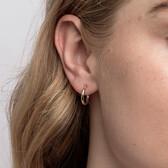 14mm Hoop Earrings in 10ct Yellow Gold