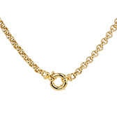 "45cm (18"") Hollow Belcher Chain in 10ct Yellow Gold"