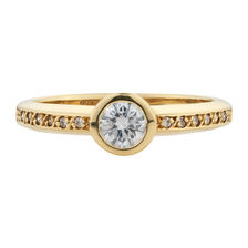 Online Exclusive - Engagement Ring with 0.40 Carat TW of Diamonds in 18ct Yellow Gold