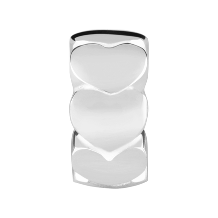 Sterling Silver Heart Spacer