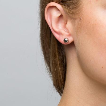 7mm Stud Earrings in 10ct White Gold
