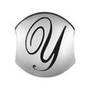 Sterling Silver 'Y' Charm