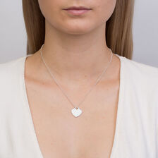 Heart Pendant in Sterling Silver