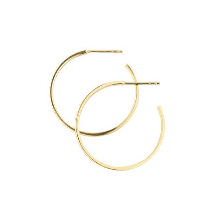 Hoop Stud Earring in 10ct Yellow Gold