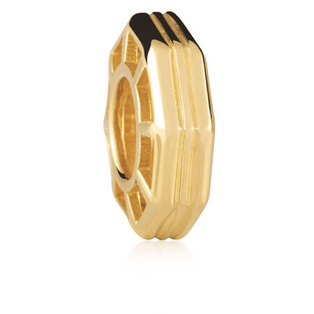 10ct Yellow Gold Octagonal Spacer