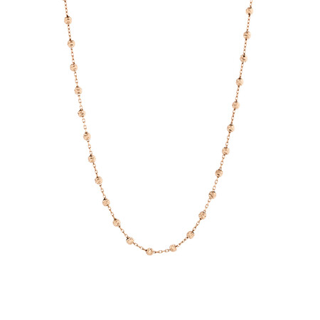 "45cm (18"") Fancy Chain in 10ct Rose Gold"