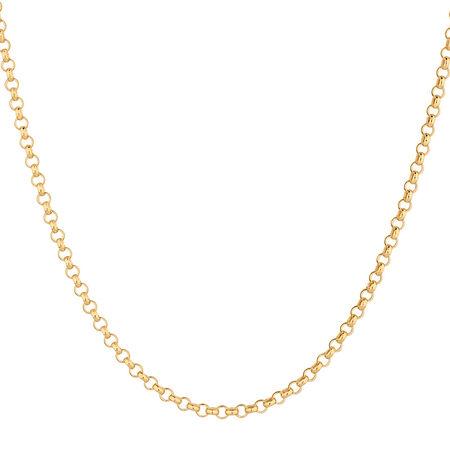 "45cm (18"") Belcher Chain in 10ct Yellow Gold"