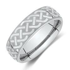 Ring in Grey Tungsten