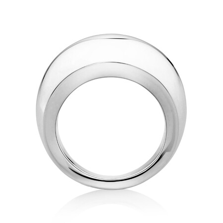 Sculpture Ring in Sterling Silver