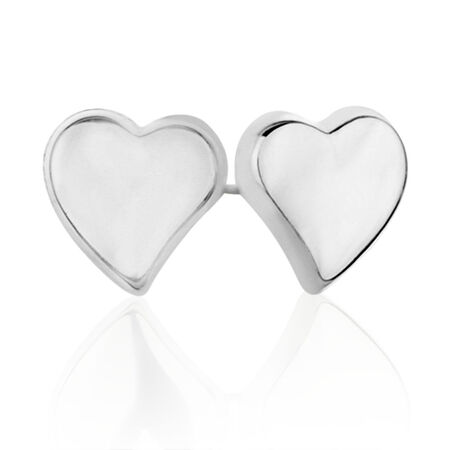 4mm Stud Earrings in Sterling Silver