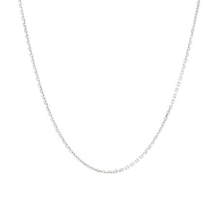 45cm Diamond Cut Belcher Chain