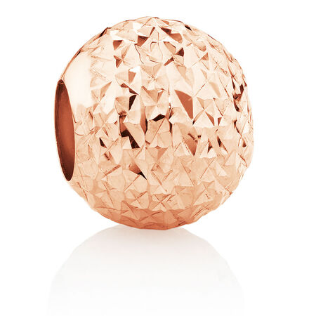Dimple Charm in 10ct Rose Gold