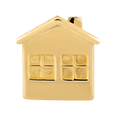 10ct Yellow Gold House Charm