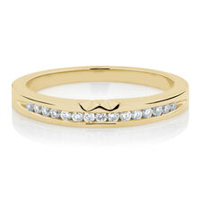 Online Exclusive - Ring with Diamonds in 18ct Yellow Gold