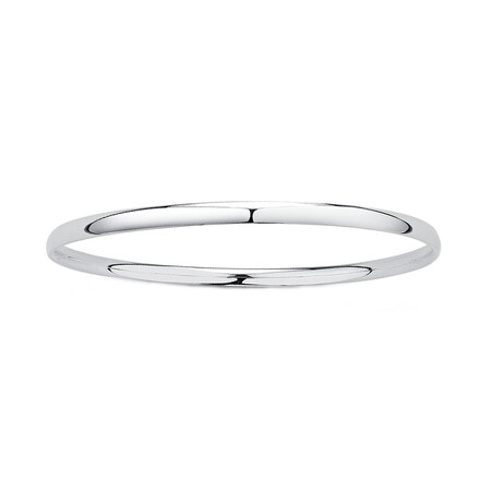 68mm Bangle in Sterling Silver