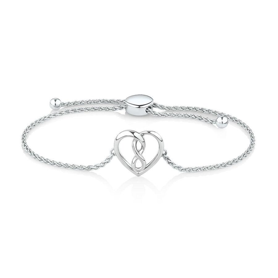 Infinitas Bracelet in Sterling Silver