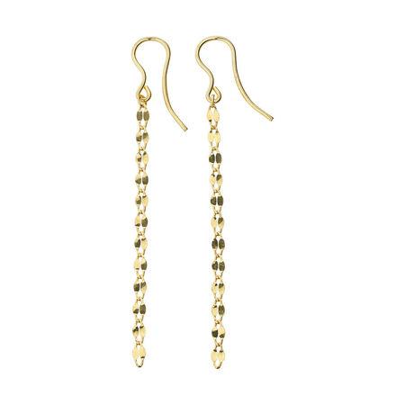 Online Exclusive - Drop Earrings in 10ct Yellow Gold