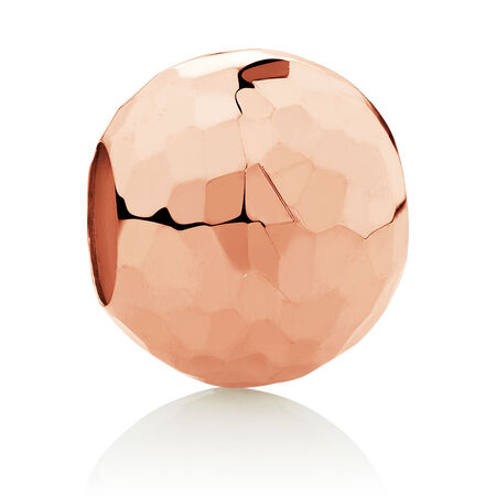 Faceted Charm in 10ct Rose Gold