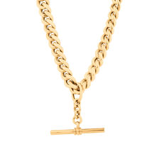 """50cm (20"""") Fob Chain in 10ct Yellow Gold"""