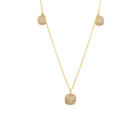 Online Exclusive - Pendant with Diamonds in 10ct Yellow Gold