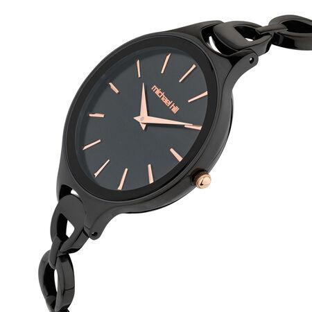 Ladies' Watch in Black Tone Stainless Steel
