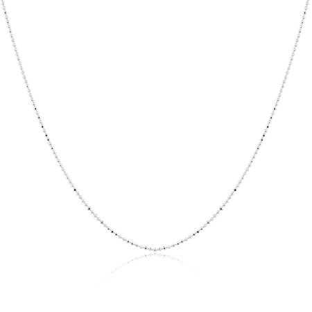 "50cm (20"") Ball Chain in Sterling Silver"