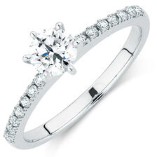 Online Exclusive - Engagement Ring with 0.62 Carat TW of Diamonds in Platinum