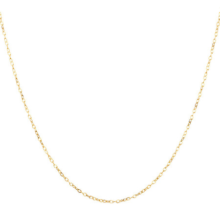 "45cm (18"") Solid Cable Chain in 10ct Yellow Gold"