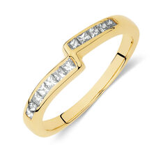 Online Exclusive - Ring with 0.27 Carat TW of Diamonds in 18ct Yellow Gold