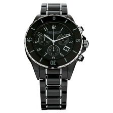 Unisex Watch in Black Ceramic & Stainless Steel