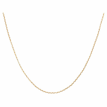 """50cm (20"""") Solid Belcher Chain in 10ct Yellow Gold"""