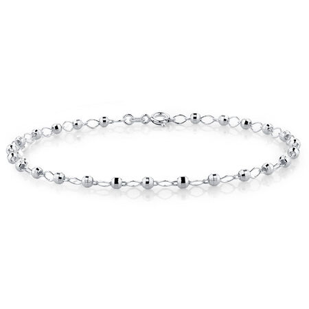 "19cm (7.5"") Fancy Bracelet in Sterling Silver"