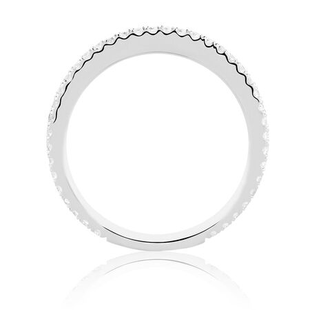 Sir Michael Hill Designer GrandAria Wedding Band with 0.31 Carat TW of Diamonds in 14ct White Gold
