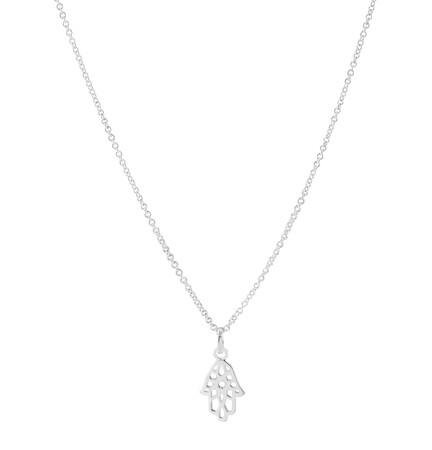 Hamsa Hand Pendant in Sterling silver