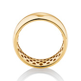 8mm Barrel Ring in 10ct Yellow Gold