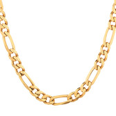 Figaro Chain in 10ct Yellow Gold