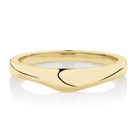 Online Exclusive -  Wedding band in 14ct Yellow Gold
