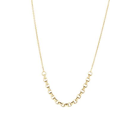 """45cm (18"""") Fancy Belcher Chain in 14ct Yellow Gold"""