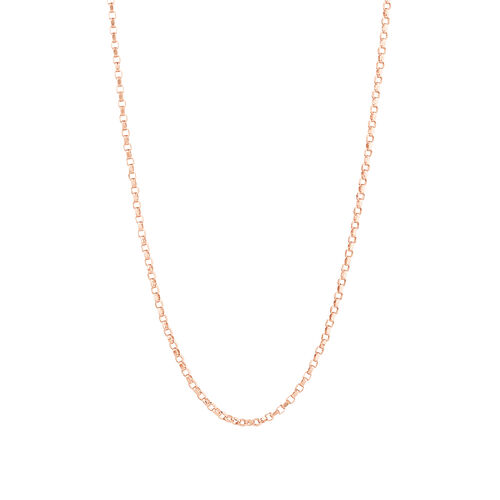 "40cm (16"") Belcher Chain in 10ct Rose Gold"