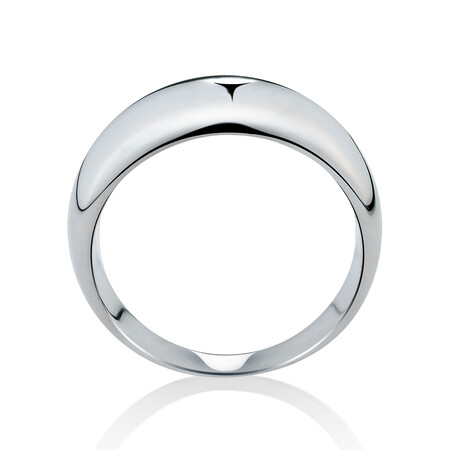Dome Ring in Sterling Silver