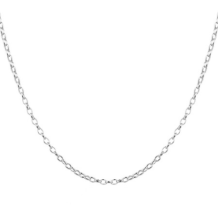 "60cm (24"") Belcher Chain in Sterling Silver"
